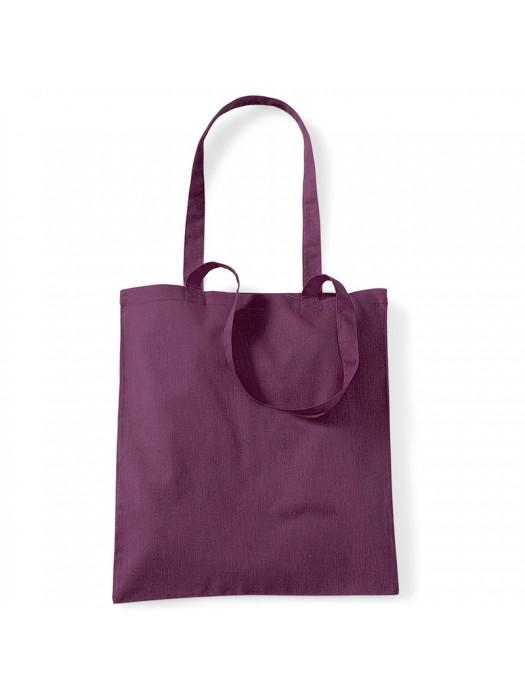 Plum Westford Mill Cotton Promo Tote Bag