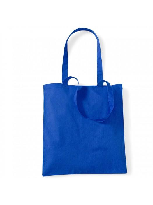 Royal Blue Westford Mill Cotton Promo Tote Bag