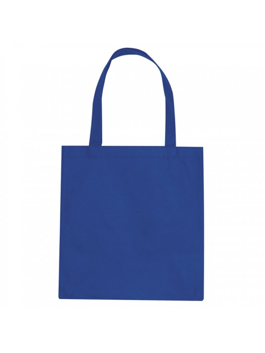Royal Blue SnS Event 100% woven durable cotton tote bag