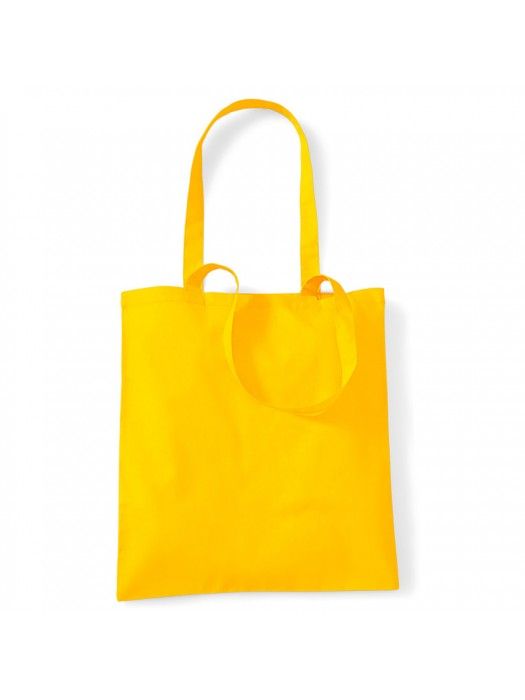 Sunflower Westford Mill Cotton Promo Tote Bag