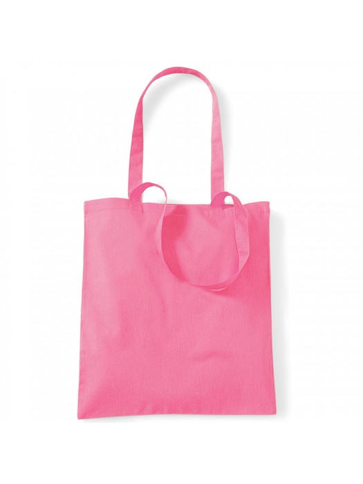 True Pink Westford Mill Cotton Promo Tote Bag