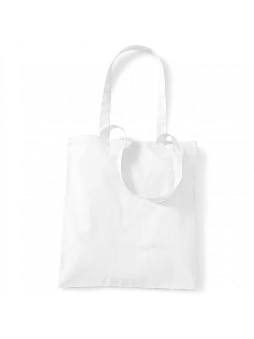 White Westford Mill Cotton Promo Tote Bag