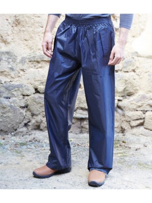 Plain CARBONDALE WATERPROOF OVERTROUSERS TRESPASS