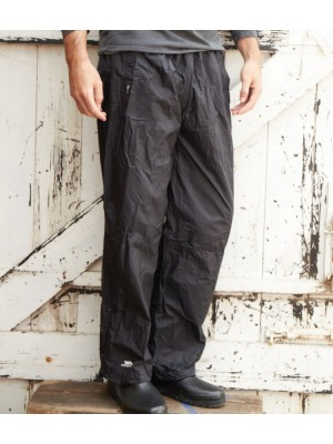 Plain QIKPAC PACKAWAY WATERPROOF OVERTROUSERS TRESPASS 170 GSM