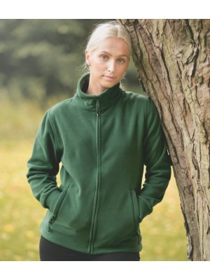 Plain LADIES BOYERO FLEECE JACKET TRESPASS 220 GSM