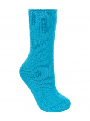 Plain LADIES FUZZ THERMAL SOCKS TRESPASS