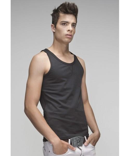Plain T Shirt Vests SnS 100% Soft Cotton 165 gsm