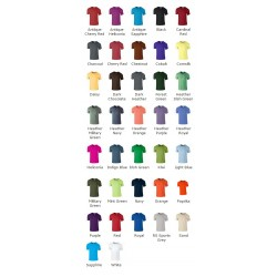 Classic Softstyle Ringspun T-Shirt by Gildan 100% Cotton 140gsm