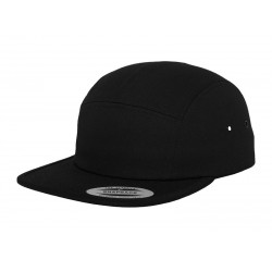 Plain cap Classic 5-panel jockey FLEXFIT  GSM