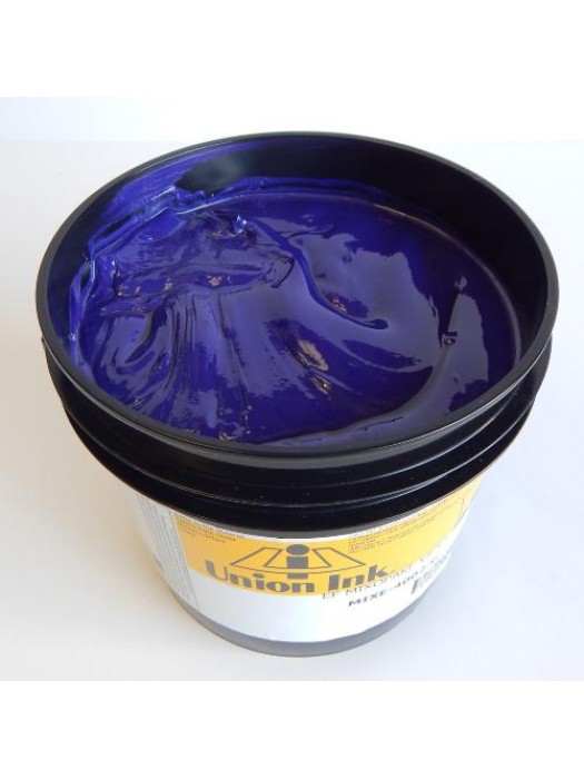 Union ink EF MIX-OPAKE VIOLET plastisol screen print ink