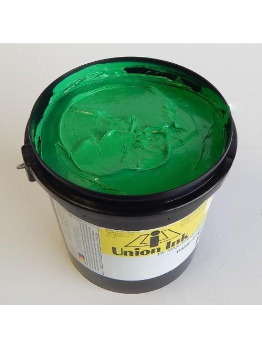Union ink EF MAXOPAKE BRITE GREEN plastisol screen print ink