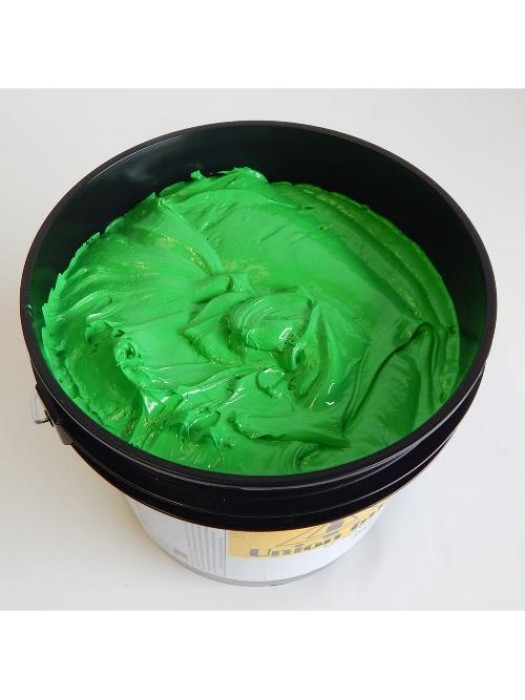 Union ink EF MAXOPAKE Lime Green plastisol screen print ink