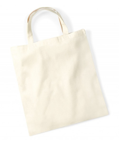 Plain PROMO SHOPPER TOTE BAG WESTFORD MILL 140 GSM