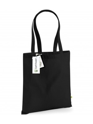 Plain MILL EARTHAWARE ORGANIC BAG FOR LIFE BAG WESTFORD MILL 340 GSM