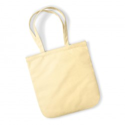 Plain EarthAware™organic spring Tote bag WESTFORD MILL 210 GSM
