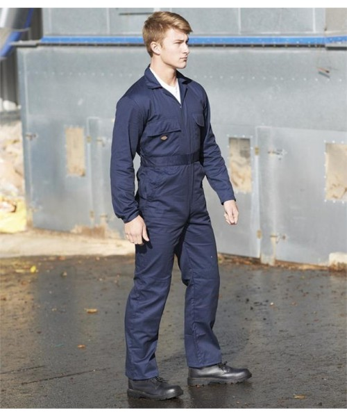 Plain REDHAWK STUD FRONT COVERALL DICKIES 300 GSM