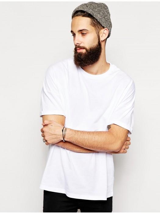 B&C Men's Only 145 GSM White 100% Ringspun Cotton Short Sleeve T-Shirt