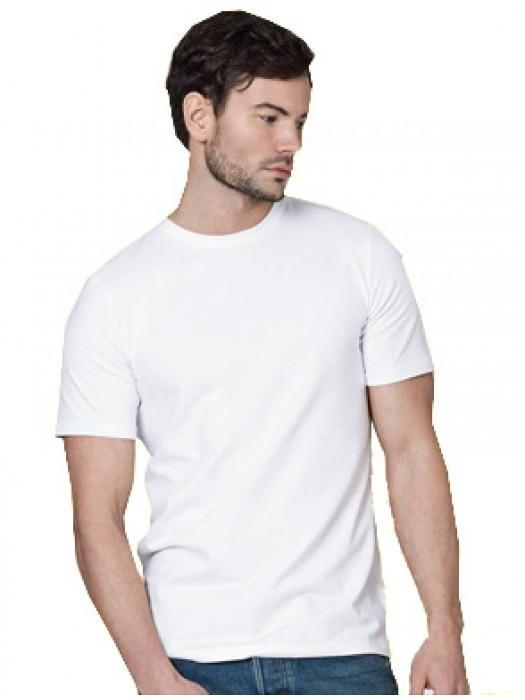 AWD Adult 140 GSM White 100% Polyester T-Shirt
