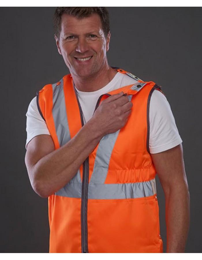 YOKO Hi vis premier pull-apart railway vests